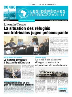 Les Dépêches de Brazzaville : Édition brazzaville du 13 juin 2014