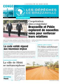 Les Dépêches de Brazzaville : Édition brazzaville du 16 juin 2014