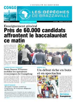 Les Dépêches de Brazzaville : Édition brazzaville du 17 juin 2014