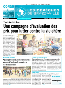Les Dépêches de Brazzaville : Édition brazzaville du 18 juin 2014