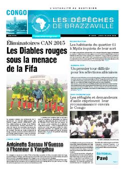 Les Dépêches de Brazzaville : Édition brazzaville du 19 juin 2014