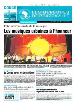 Les Dépêches de Brazzaville : Édition brazzaville du 20 juin 2014