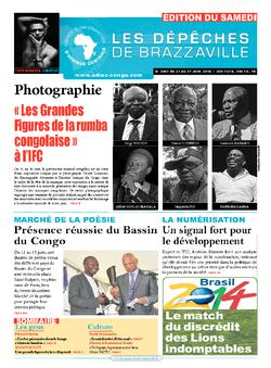 Les Dépêches de Brazzaville : Édition du 6e jour du 21 juin 2014