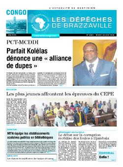 Les Dépêches de Brazzaville : Édition brazzaville du 24 juin 2014