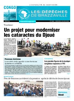 Les Dépêches de Brazzaville : Édition brazzaville du 25 juin 2014