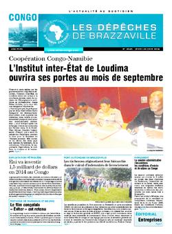 Les Dépêches de Brazzaville : Édition brazzaville du 26 juin 2014