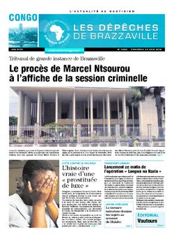 Les Dépêches de Brazzaville : Édition brazzaville du 27 juin 2014