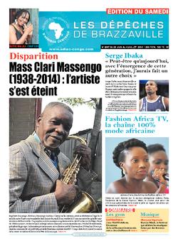Les Dépêches de Brazzaville : Édition du 6e jour du 28 juin 2014