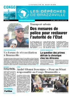 Les Dépêches de Brazzaville : Édition brazzaville du 30 juin 2014
