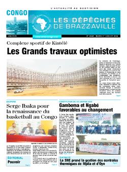 Les Dépêches de Brazzaville : Édition brazzaville du 01 juillet 2014