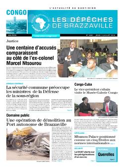 Les Dépêches de Brazzaville : Édition brazzaville du 03 juillet 2014