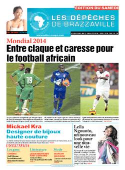Les Dépêches de Brazzaville : Édition du 6e jour du 05 juillet 2014