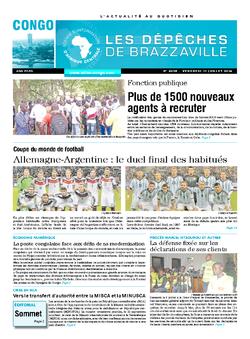 Les Dépêches de Brazzaville : Édition brazzaville du 11 juillet 2014