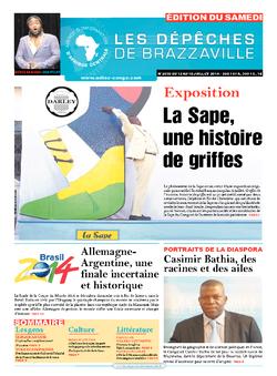 Les Dépêches de Brazzaville : Édition du 6e jour du 12 juillet 2014
