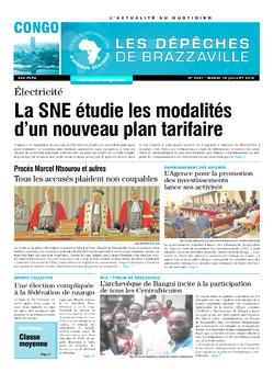 Les Dépêches de Brazzaville : Édition brazzaville du 15 juillet 2014
