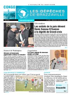 Les Dépêches de Brazzaville : Édition brazzaville du 16 juillet 2014