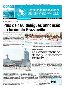 Les Dépêches de Brazzaville : Édition brazzaville du 21 juillet 2014