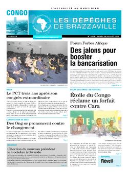 Les Dépêches de Brazzaville : Édition brazzaville du 28 juillet 2014