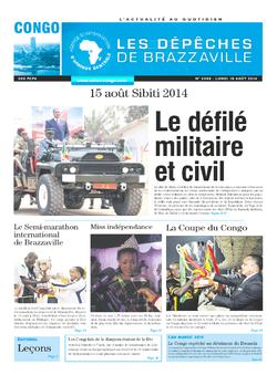 Les Dépêches de Brazzaville : Édition brazzaville du 18 août 2014