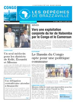 Les Dépêches de Brazzaville : Édition brazzaville du 19 août 2014