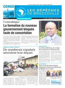 Les Dépêches de Brazzaville : Édition brazzaville du 20 août 2014