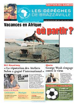 Les Dépêches de Brazzaville : Édition du 6e jour du 23 août 2014