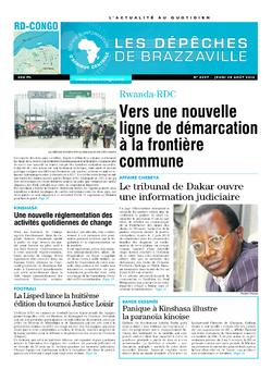 Les Dépêches de Brazzaville : Édition kinshasa du 28 août 2014