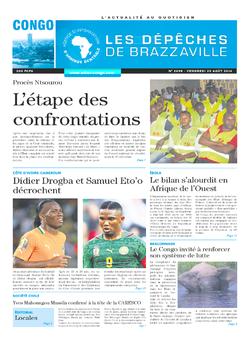 Les Dépêches de Brazzaville : Édition brazzaville du 29 août 2014