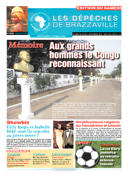 Les Dépêches de Brazzaville : Édition du 6e jour du 30 août 2014