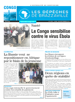 Les Dépêches de Brazzaville : Édition brazzaville du 01 septembre 2014