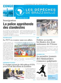 Les Dépêches de Brazzaville : Édition brazzaville du 05 septembre 2014