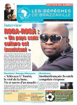 Les Dépêches de Brazzaville : Édition du 6e jour du 06 septembre 2014