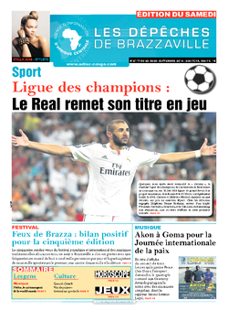 Les Dépêches de Brazzaville : Édition du 6e jour du 20 septembre 2014