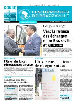 Les Dépêches de Brazzaville : Édition brazzaville du 22 septembre 2014