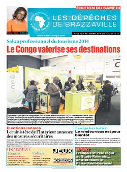 Les Dépêches de Brazzaville : Édition du 6e jour du 27 septembre 2014