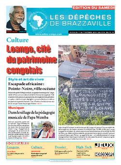 Les Dépêches de Brazzaville : Édition du 6e jour du 11 octobre 2014
