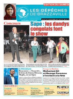 Les Dépêches de Brazzaville : Édition du 6e jour du 18 octobre 2014