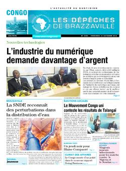 Les Dépêches de Brazzaville : Édition brazzaville du 31 octobre 2014
