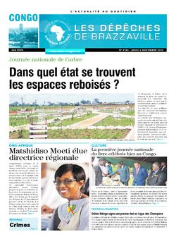 Les Dépêches de Brazzaville : Édition brazzaville du 06 novembre 2014