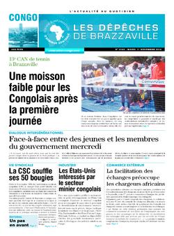 Les Dépêches de Brazzaville : Édition brazzaville du 11 novembre 2014