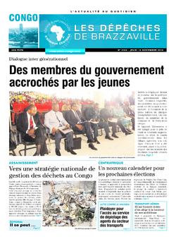 Les Dépêches de Brazzaville : Édition brazzaville du 13 novembre 2014