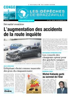Les Dépêches de Brazzaville : Édition brazzaville du 18 novembre 2014