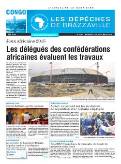 Les Dépêches de Brazzaville : Édition brazzaville du 19 novembre 2014