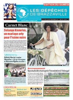 Les Dépêches de Brazzaville : Édition du 6e jour du 22 novembre 2014