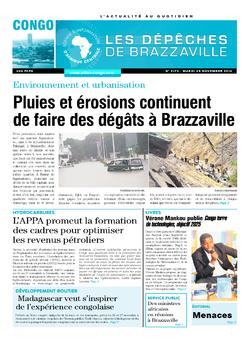 Les Dépêches de Brazzaville : Édition brazzaville du 25 novembre 2014
