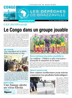 Les Dépêches de Brazzaville : Édition brazzaville du 04 décembre 2014