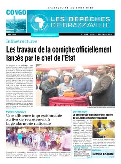 Les Dépêches de Brazzaville : Édition brazzaville du 11 décembre 2014