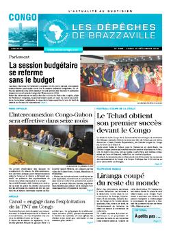 Les Dépêches de Brazzaville : Édition brazzaville du 15 décembre 2014