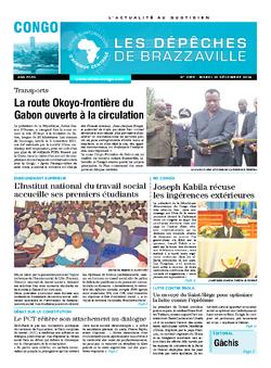 Les Dépêches de Brazzaville : Édition brazzaville du 16 décembre 2014