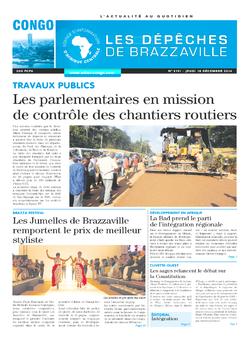 Les Dépêches de Brazzaville : Édition brazzaville du 18 décembre 2014